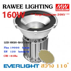 โคมไฟ LED HIGH-BAY OEM 160W - ULTRA BRIGHT // SAFETY GLASS