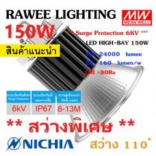 โคมไฟ LED HIGH-BAY OEM 160W - **สว่างพิเศษ - ประกัน 5 ปี