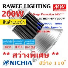 โคมไฟ LED HIGH-BAY OEM 200W - **สว่างพิเศษ - ประกัน 5 ปี