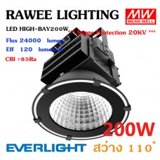 โคมไฟ LED HIGH-BAY / SPOTLIGHT OEM 200W - ULTRA BRIGHT