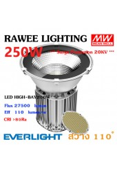 โคมไฟ LED HIGH-BAY OEM 250W - ULTRA BRIGHT // SAFETY GLASS