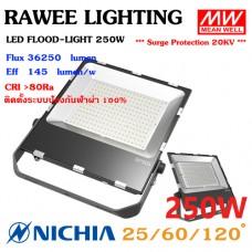 โคมไฟ LED FLOOD-LIGHT OEM 250W - **ราคาประหยัด