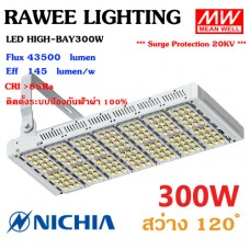 โคมไฟ LED FLOOD-LIGHT OEM 300W - ULTRA BRIGHT