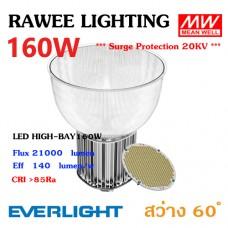 โคมไฟ LED HIGH-BAY OEM 160W - ULTRA BRIGHT // ฝาอะคริลิค