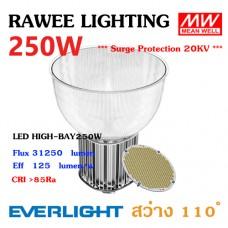 โคมไฟ LED HIGH-BAY OEM 250W - ULTRA BRIGHT // ฝาอะคริลิค