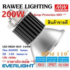 โคมไฟ LED HIGH-BAY OEM 200W - **ราคาประหยัด - ประกัน 5 ปี