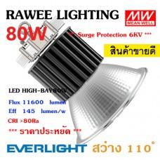โคมไฟ LED HIGH-BAY OEM 80W - **ราคาประหยัด