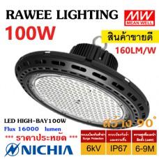 โคมไฟ LED HIGH-BAY OEM 100W - **UFO - คุณภาพระดับพรีเมียม