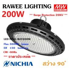 โคมไฟ LED HIGH-BAY OEM 200W - **UFO - คุณภาพระดับพรีเมียม