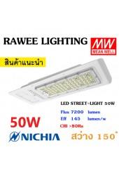 โคมไฟ LED STREET-LIGHT OEM 50W - **ราคาประหยัด - คุณภาพระดับพรีเมียม