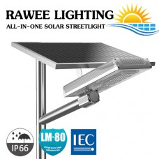 โคมไฟ ALL-IN-ONE LED STREET-LIGHT SOLARCELL 20W