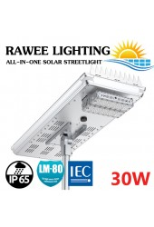 โคมไฟ ALL-IN-ONE LED STREET-LIGHT SOLARCELL 30W