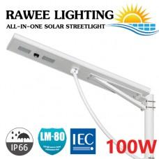 โคมไฟ ALL-IN-ONE LED STREET-LIGHT SOLARCELL 100W